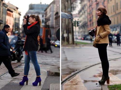 street style photos by the Sartorialist