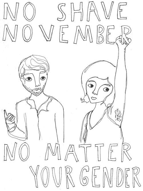 No Shave November No Matter Your Gender