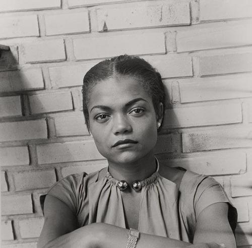 uncredited/date portrait of eartha kitt (1950s?)