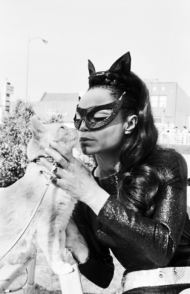 Eartha Kitt as Catwoman c. 1960's