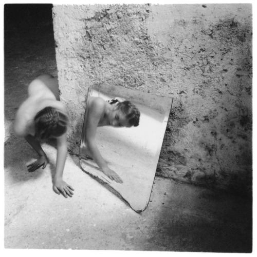 Francesca Woodman, Self-deceit (1978)