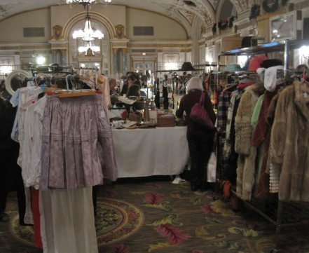 photo of the ottawa vintage clothing fair in 2005