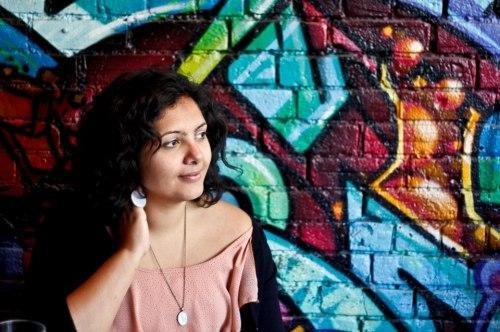 a photograph i took of my friend salima pujani
