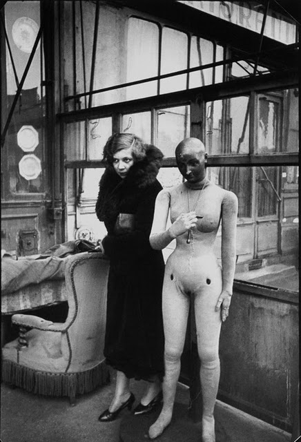 Leonor Fini by Henri Cartier Bresson,Paris-1933