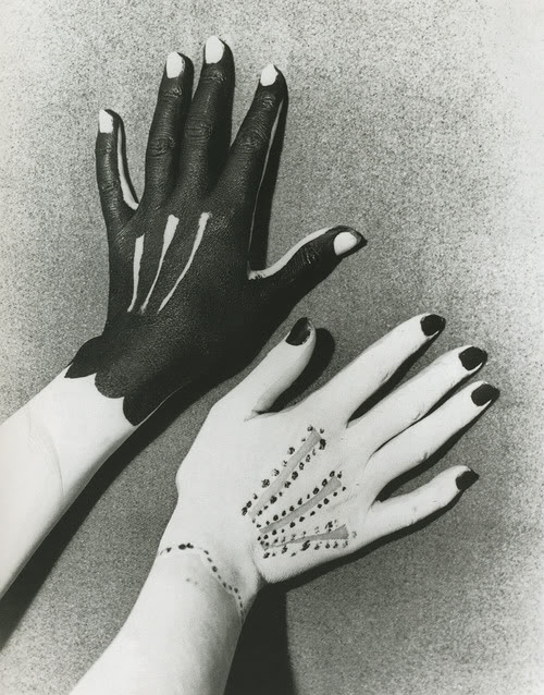 Surrealism Hands Drawing Man Ray Hands Painted by