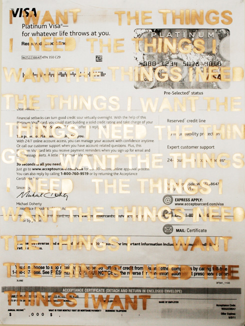 Untitled, from Everything is Necessary (2012) by Nikita Gale