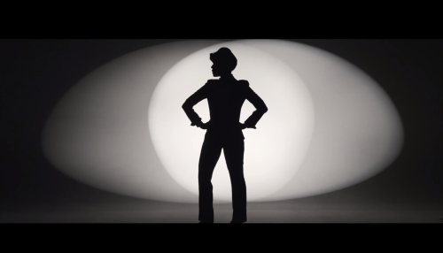 Screen shot of Janelle Monae's QUEEN music video