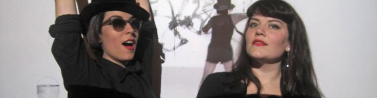 Julia dancing with Annemarie and Yoko